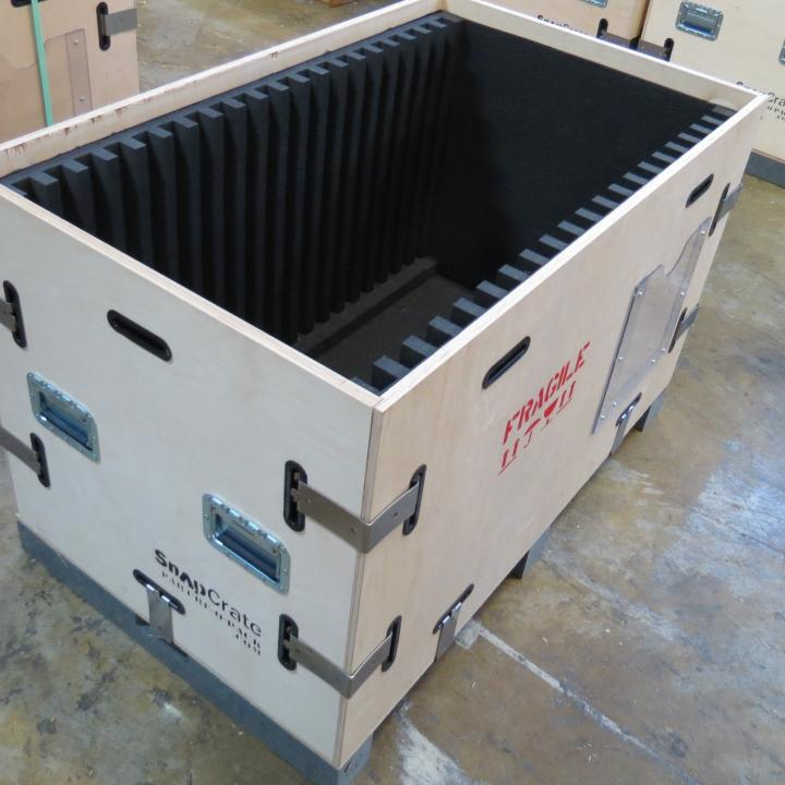 Steel Shipping cases