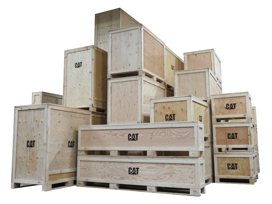 Wood crates - Creopack
