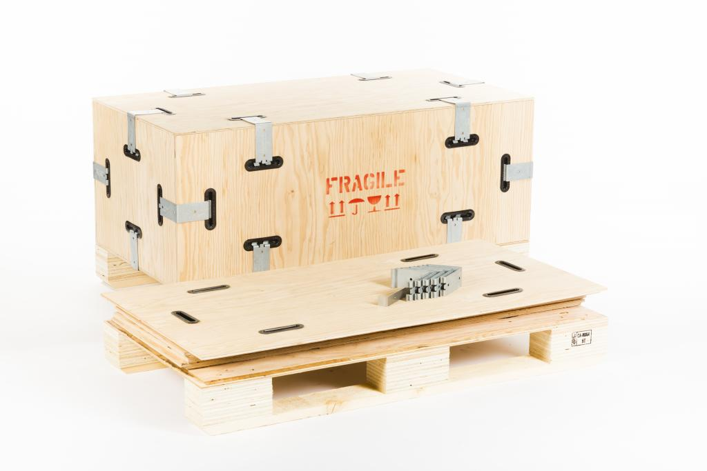 creosnap stackable wooden crates custom collapsible wooden crates